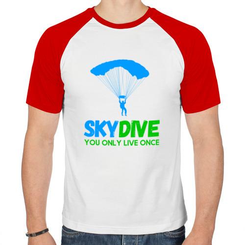 Мужская футболка реглан  Фото 01, skydive