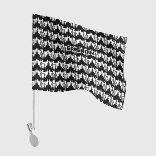 Флаг для автомобиля Green Day Фото 01