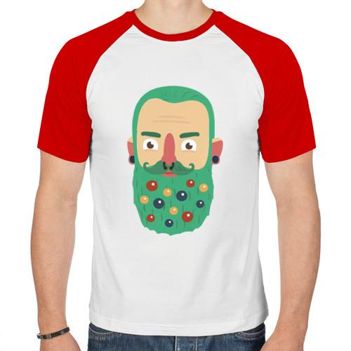 Мужская футболка реглан  Фото 01, Новый год