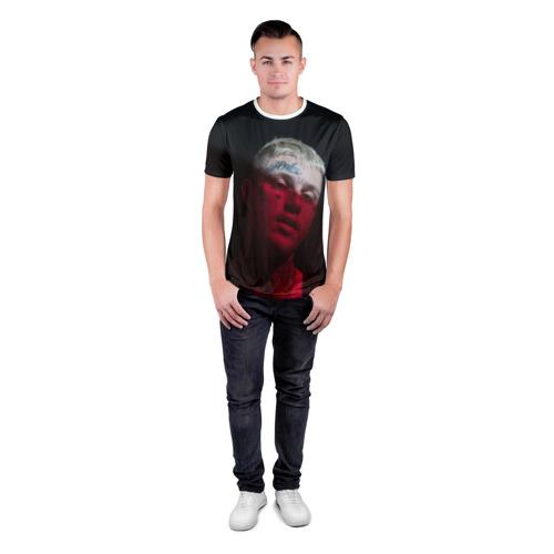 Мужская футболка 3D спортивная  Фото 04, LIL PEEP
