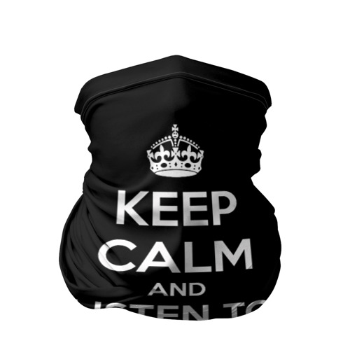 Бандана-труба 3D  Фото 01, Skrillex keep calm