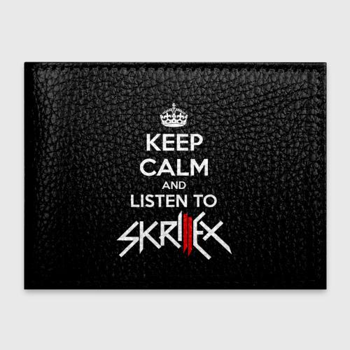 Обложка для студенческого билета  Фото 01, Skrillex keep calm