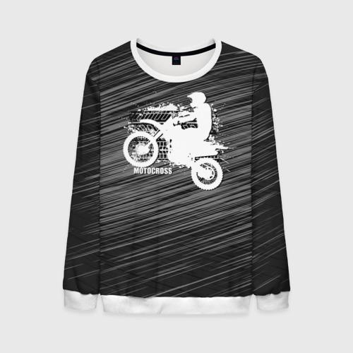 Мужской свитшот 3D Motocross Фото 01