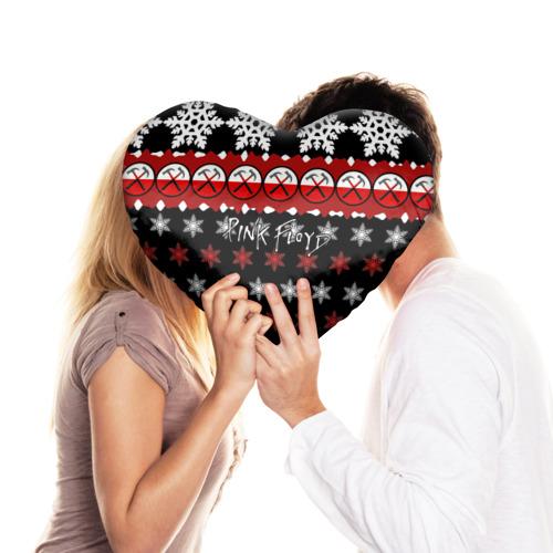 Подушка 3D сердце  Фото 03, Праздничный Pink Floyd