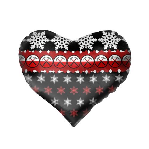 Подушка 3D сердце  Фото 02, Праздничный Pink Floyd
