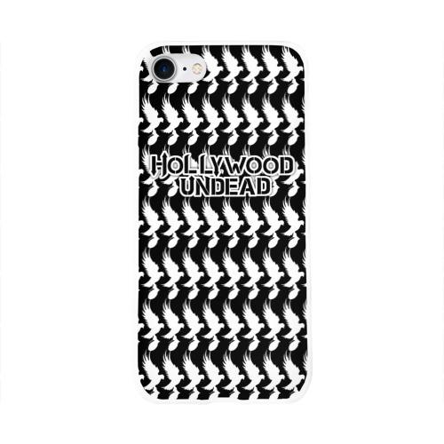 Чехол для Apple iPhone 8 силиконовый глянцевый Hollywood Undead