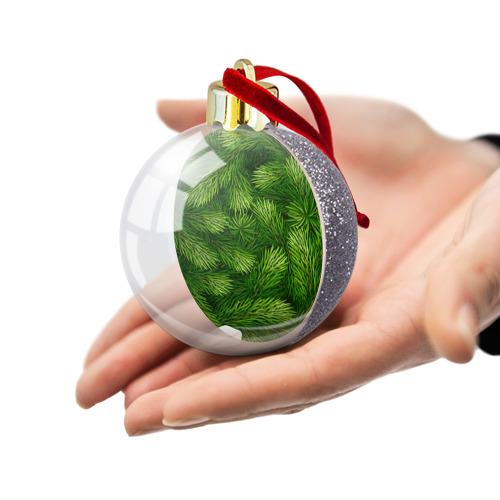 Ёлочный шар с блестками  Фото 03, Ёлочка