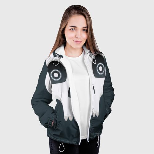 Женская куртка 3D  Фото 04, Череп