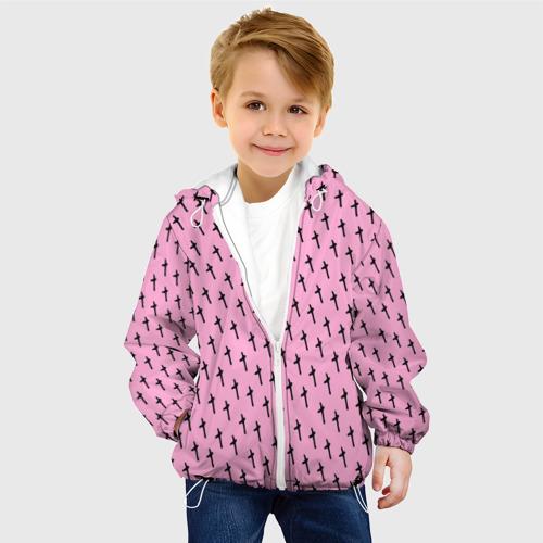 Детская куртка 3D  Фото 03, LiL PEEP Pattern