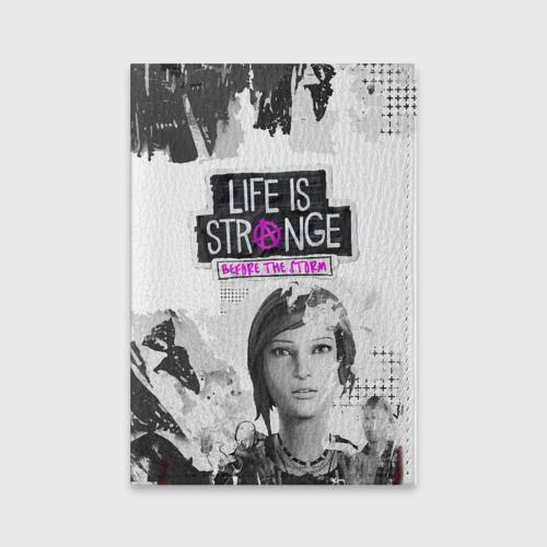 Обложка для паспорта матовая кожа Chloe. Life is Strange. Фото 01