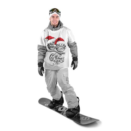 Накидка на куртку 3D  Фото 03, С Новым годом!