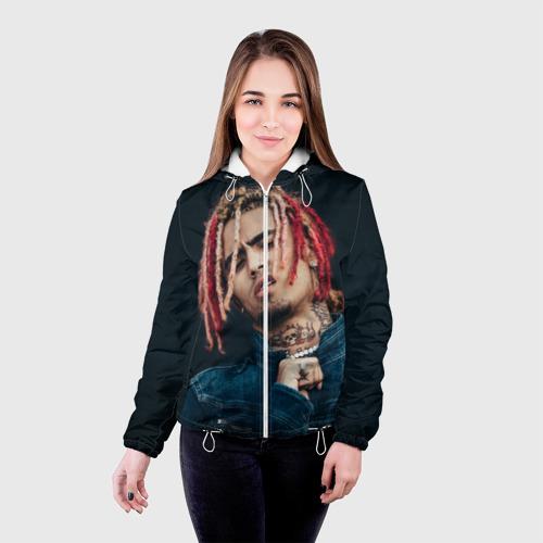 Женская куртка 3D  Фото 03, Lil Pump
