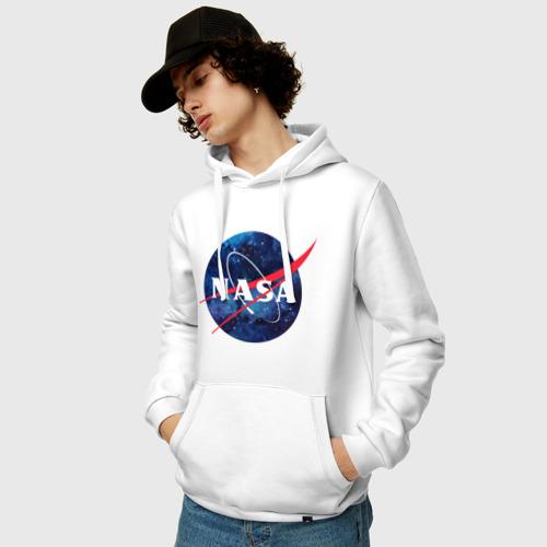 Мужская толстовка хлопок 'NASA'