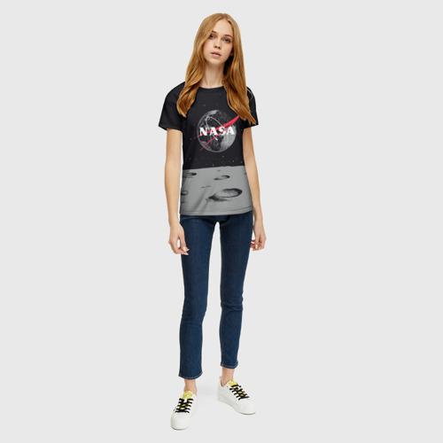 Женская футболка 3D NASA Фото 01