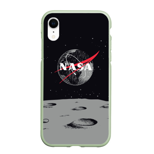 Чехол для iPhone XR матовый NASA Фото 01