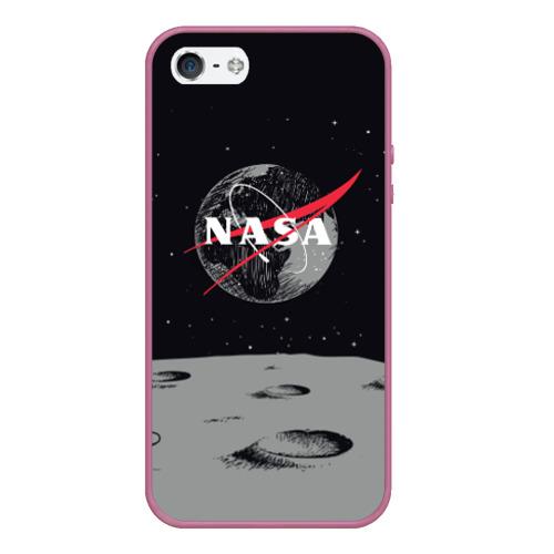 Чехол для iPhone 5/5S матовый NASA Фото 01