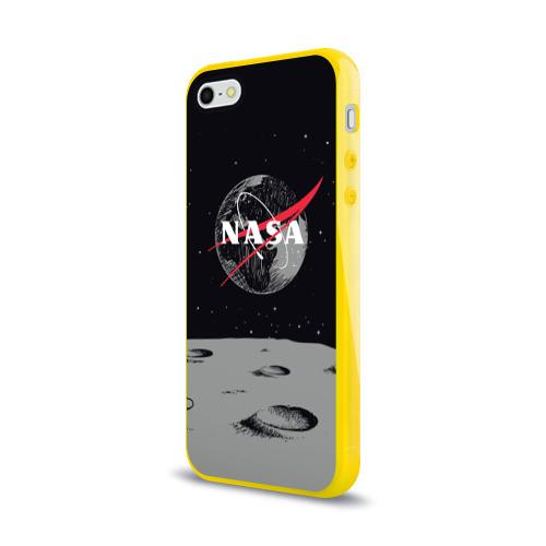 Чехол для iPhone 5/5S глянцевый NASA Фото 01