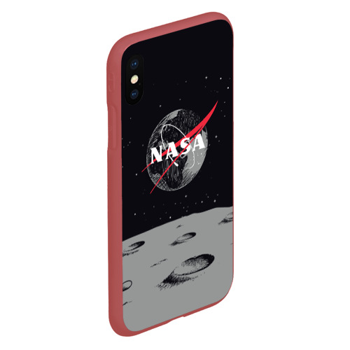 Чехол для iPhone XS Max матовый NASA Фото 01