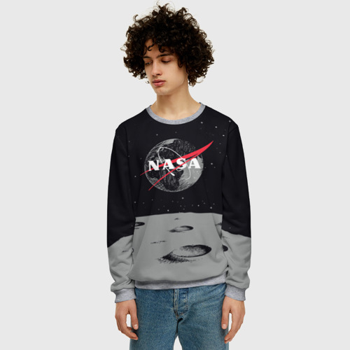 Мужской свитшот 3D NASA Фото 01