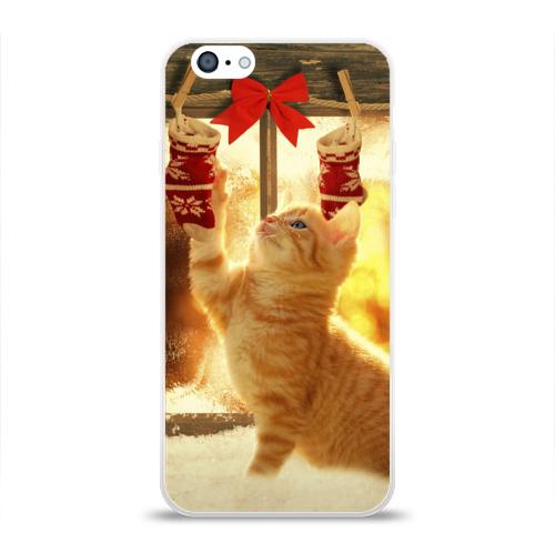 Чехол для Apple iPhone 6 силиконовый глянцевый  Фото 01, Сюрпризы от Деда Мороза