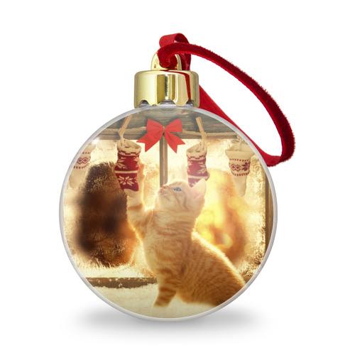 Ёлочный шар с блестками  Фото 01, Сюрпризы от Деда Мороза