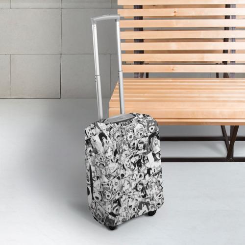 Чехол для чемодана 3D Ahegao Фото 01