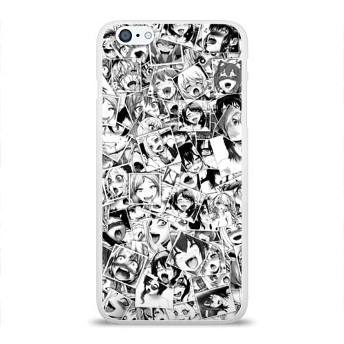 Чехол для iPhone 6/6S Plus глянцевый Ahegao Фото 01