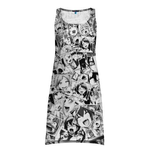 Платье-майка 3D Ahegao