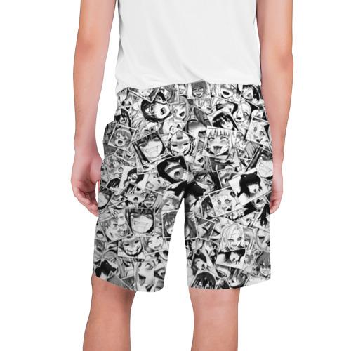 Мужские шорты 3D Ahegao faces pattern Фото 01
