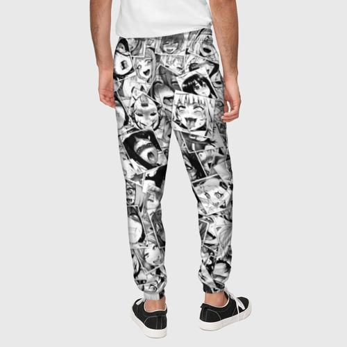 Мужские брюки 3D Ahegao faces pattern Фото 01