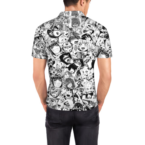 Мужская рубашка поло 3D Ahegao