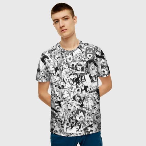 Мужская футболка 3D  Фото 03, Ahegao
