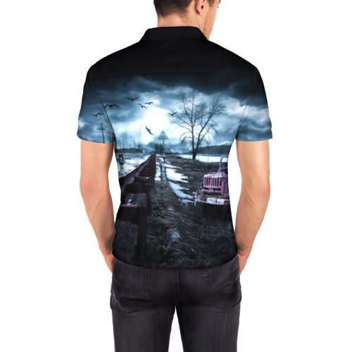 Мужская рубашка поло 3D  Фото 04, S.T.A.L.K.E.R. - Р.О.М.А.