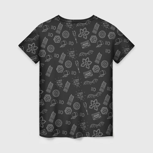 Женская футболка 3D Очень Странные дела  Бомбинг Фото 01
