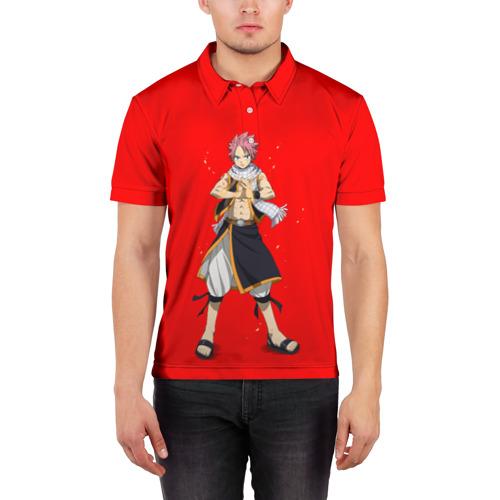 Мужская рубашка поло 3D  Фото 03, fairy tail