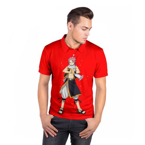 Мужская рубашка поло 3D  Фото 05, fairy tail