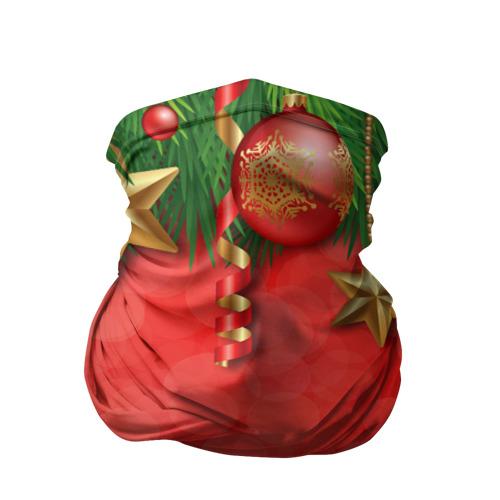 Бандана-труба 3D  Фото 01, Новый год