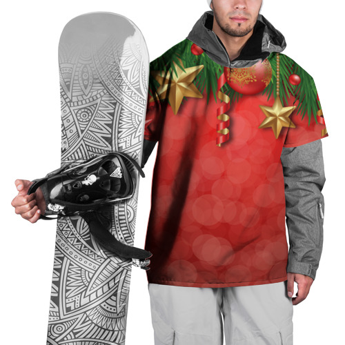Накидка на куртку 3D  Фото 01, Новый год