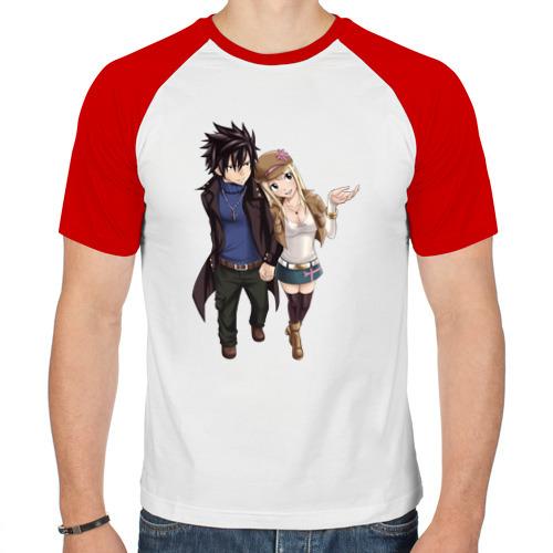 Мужская футболка реглан  Фото 01, fairy tail