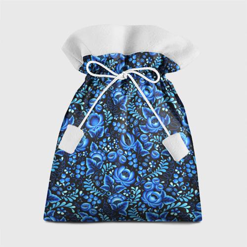 Подарочный 3D мешок Красивая гжель