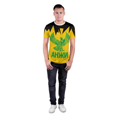 Мужская футболка 3D спортивная  Фото 04, Анжи Махачкала #3