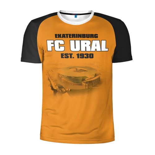 Мужская футболка 3D спортивная Урал 2