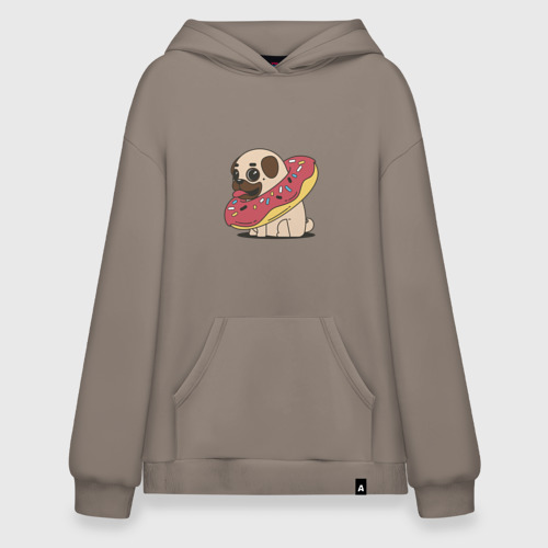 Мопс пончик
