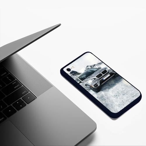 Чехол для iPhone 6/6S матовый BMW X5 Фото 01