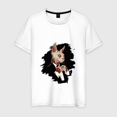 Мужская футболка хлопок Сфинкс на стиле SWAG