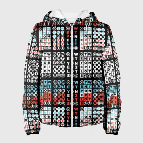 Женская куртка 3D  Фото 01, Twenty One Pilots Pattern