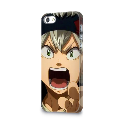 Чехол для Apple iPhone 5/5S 3D  Фото 03, Black Clover