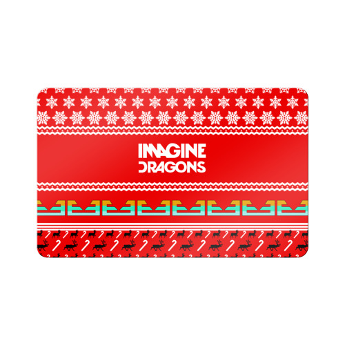 Магнит виниловый Visa  Фото 01, Праздничный Imagine Dragons