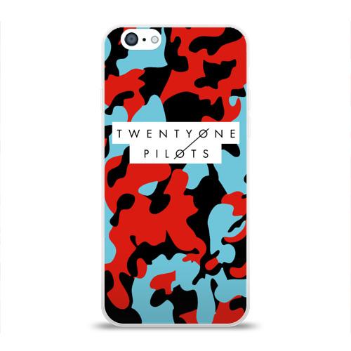 Чехол для Apple iPhone 6 силиконовый глянцевый  Фото 01, TOP Military Brand Clorors