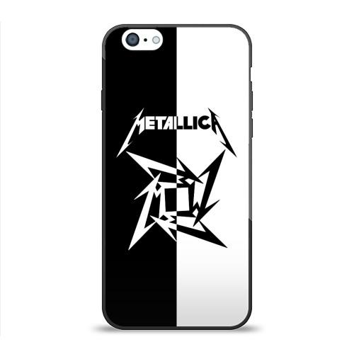 Чехол для Apple iPhone 6 силиконовый глянцевый  Фото 01, Metallica